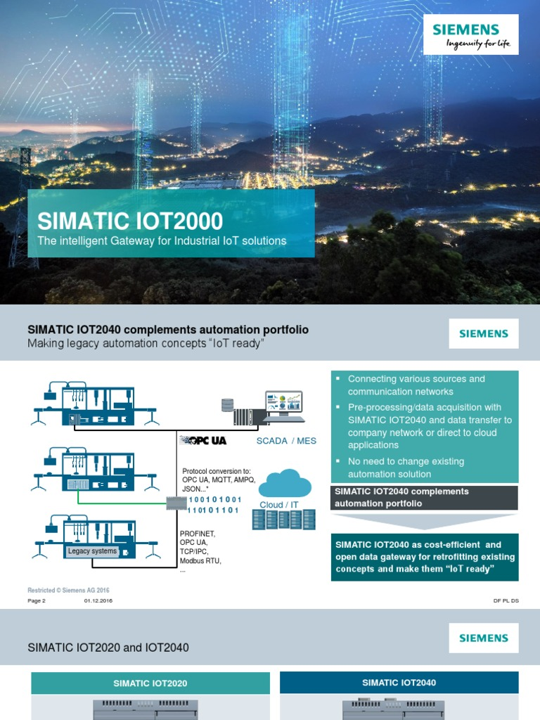 04 Siemens | Internet Of Things | Gateway (Telecommunications)
