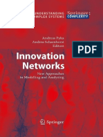 Innovation Networks. New Approaches in Modelling and Analyzing (Springer-Complex Systems)-2009 330p