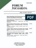 2 I Wayan Forum Pascasarjana Vol 34 No.2 Hal 89-105