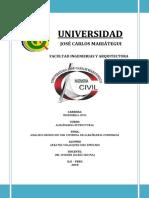 Informe de Albañileria Bbcita Final