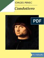 El Condotiero - Georges Perec