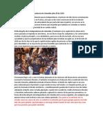 Resumen Sociologia Independencia de Colombia