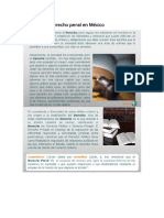 Unidad 1. El Derecho Penal en México