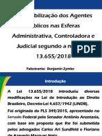 2018-11-08%2c Responsabilização dos Agentes Públicos nas Esferas Administrativa%2c Controladora e Judicial segundo a nova Lei 13.655-2018%2c ELO%2c BSB
