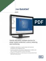 5030 QuickSet PF00075 Manual