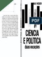 Max Weber - Ciência e Política_duas Vocações