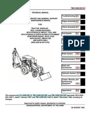 20942248-TM-5-2420-222-34-JOHN-DEERE-JD-410-BACKHOE-LOADER ... john deere 8330 fuse panel location Scribd