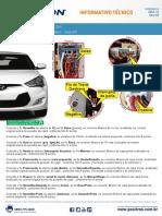 c0243 15 Hyundai Veloster 2014 Dicas de Instalacao Do Alarme Positron Pv