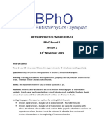 BPhO Round 1 Section 2 Nov 2015 16 Final