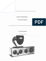 How to Restore a Vintage Radio.pdf