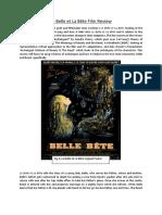 Le Belle Et La Bête Film Review