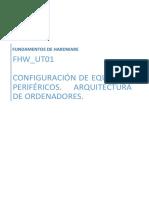 Fhw_ut01_configuración de Equipos y Periféricos