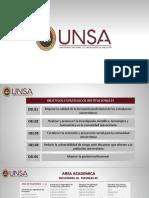 Presentacion u.n.s.a - Infraestructura