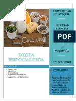 Dieta Hipocalcica