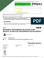 BIOTIERRA Tratamiento de Aguas ,Fosa Septica ,Planta de Tratamiento de Efluentes _ Clasipar.com en Paraguay