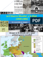Mapas de La II Guerra Mundial y La 1