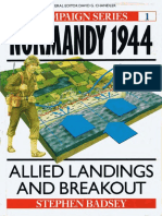 Osprey - Campaign - 001 - Normandy 1944 Allied Landings and Breakout (1990) Ocr 7.07-2.6 Lotb