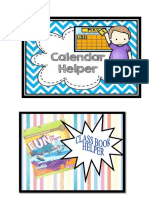 Classroom Helpers Badges
