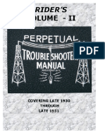 Perpetual Troubleshooter's Manual - Index Vol 16-22