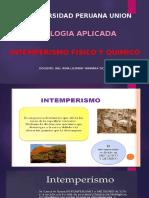 Intemperismo - Fisico y Quimico (1)