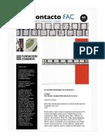 Contacto FAC 65 (Boletín)