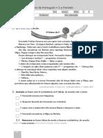 Portugues -avaliação intercalar - plim