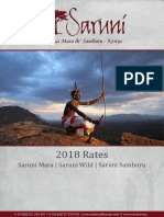 2018 Saruni Safari Rates