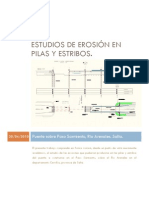 Monografía Erosión en Pilas y Estribos - Ramiro Reyes