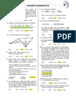 5° de primaria Examen (1)