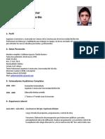 Guillermo Ignacio Toledo Ramirez Curriculum