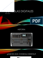 Consolas digitales