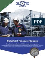 PBX Indust Pressure Gauge