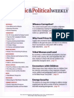Economic and Political Weekly Vol. 47, No. 20, MAY 19, 2012