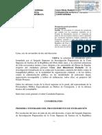 Poder Judicial declara procedente solicitud de extradición activa de César Hinostroza