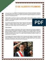 Elecciones 1990 Gobierno de Alberto Fujimori