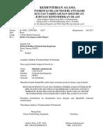 Contoh Surat Permohonan Judul Skripsi
