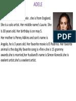 Presentación1 Adele