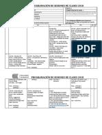 Elementary II - 18INS0219M Class Plan - Moises Perez
