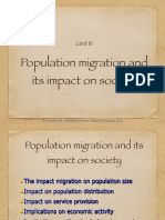 Population Migration and Its Impact on Society