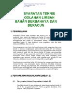 Kep-03-Bapedal-09-1995 tentang Persyaratan Teknis Pengolahan Limbah B3.pdf