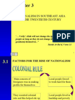 Chapter 3 (Nationalism In S.E Asia In The 20th Century)