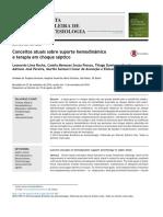 Conceitos atuais sobre suporte hemodinâmico e terapia em choque séptico - Copia.pdf