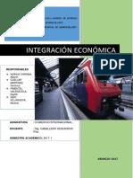 Integración económica monografia