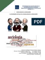 El Escenario Actual de La Sociología de La Educación