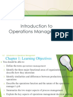 Chapter-1 operation management