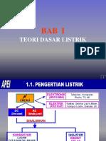 01. Bab i - Teori Dasar Listrik-cetak Backgorud Edit