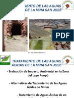 Tratamiento de Aguas Ácidas de La Mina San Jose Final Masys Zamora 4