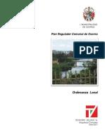Osorno - Plano Regulador