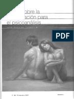 Notas sobre la investigación para el psicoanálisis-J. E. Tappan