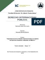 """""""Importancia de Los Tratados Internacionales en Materia de Derechos Humanos Culturales en México"""""""